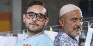 Rocco Hunt e Claudio Bisio in Arrivano i Prof