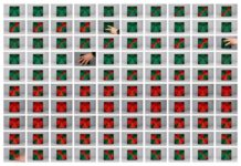 Bruno Munari, Tetracono, 1965, alluminio e ferro, elettromotore, 26,5x20x21,3 cm; fotocomposizione di David Reinfurt