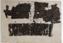 """Papiro 1067 di Ercolano con le """"Historiae"""" di Seneca il Vecchio"""
