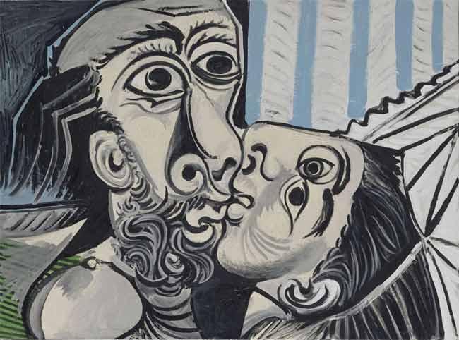 Picasso, Il bacio