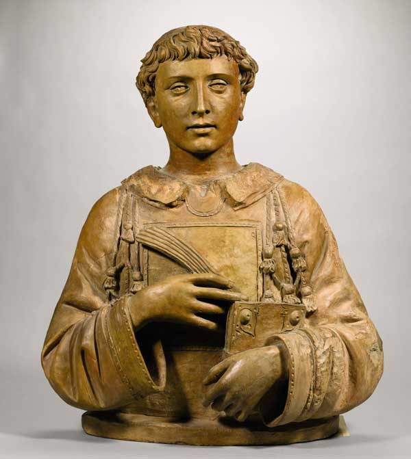 Donatello, busto di San Lorenzo