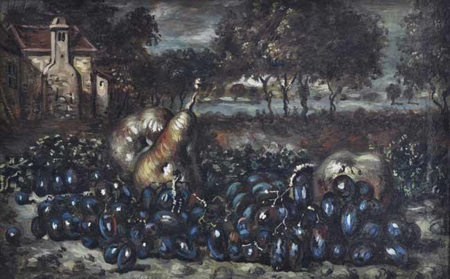 Giorgio de Chirico, Vita silente, anni '50