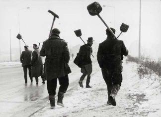 Sante Vittorio Malli, Quando la neve è pane, Milano, 1956, © Eredi Sante Vittorio Malli