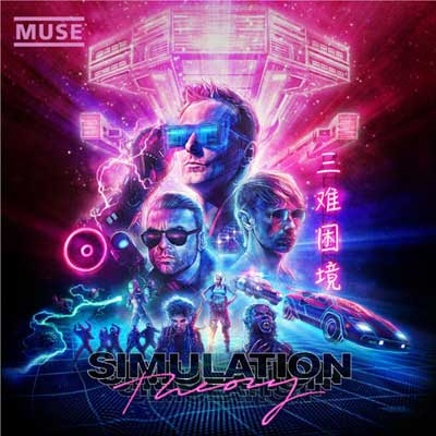 Muse,cover album 'Simulation Theory'