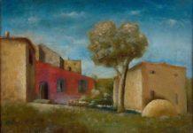 Carlo Carrà, Il leccio, 1926, olio su tela, 35 x 40 cm, Museo del Novecento, Milano - Mostra su Margherita Sarfatti