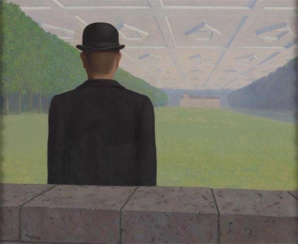 René Magritte, Le Grand Siècle, 1954, olio su tela, 50 x 60 cm, Kunstmuseum Gelsenkirchen © 2018 Prolitteris, Zurich