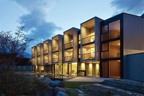 Marx Ladurner Architekten_Hotel, Sand, Castelbello, foto Rene Riller - Architetture recenti in Alto Adige