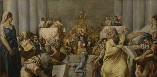 Jacopo Tintoretto, Disputa di Gesù nel tempio, 1545‐1546, Milano, Veneranda Fabbrica del Duomo, © foto Malcangi