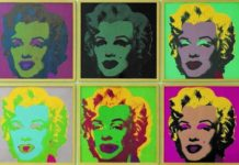 Andy Warhol. Marylin Monroe, 1967. Porfolio di 10 - serigrafia, edizioni da 250. Collezione Lanfranchi, Celerina (CH). © The Andy Warhol Foundation for the Visual Arts Inc. by SIAE 2018.
