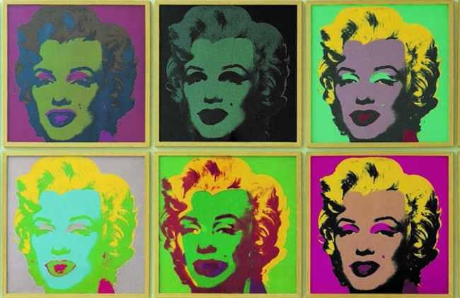 Andy Warhol. Marylin Monroe, 1967. Porfolio di 10 - serigrafia, edizioni da 250. Collezione Lanfranchi, Celerina (CH). © The Andy Warhol Foundation for the Visual Arts Inc. by SIAE 2018. - Pop Art