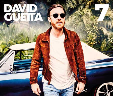 David Guetta, cover dell'album 7