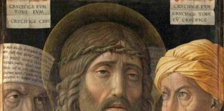 Andrea Mantegna (Isola di Carturo 1431 – Mantova 1506), Ecce Homo, 1500 ca, tempera su tela montata su tavola 54,7 x 43,5 cm - Paris, Musée Jacquemart - André – Institut de France © Studio Sébert Photographes
