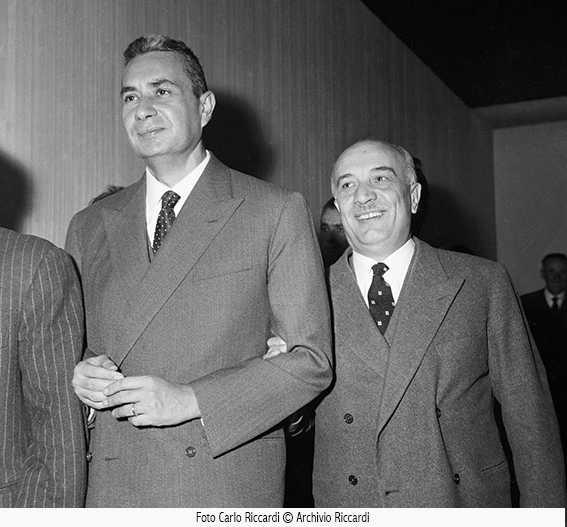 Archivio Riccardi, 1960, Aldo Moro e Fanfani