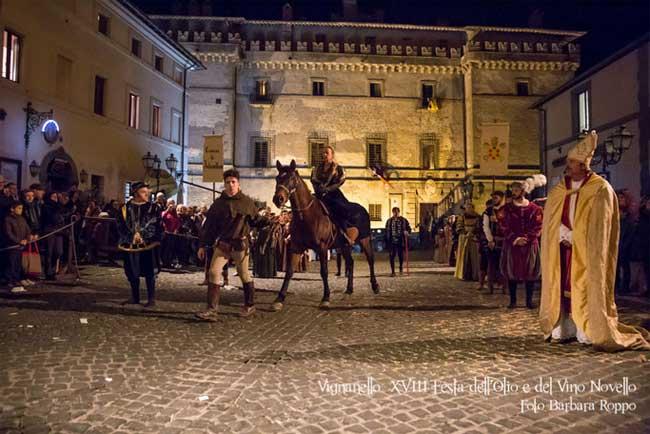 Festa dell'olio e del vino novello a Vignanello