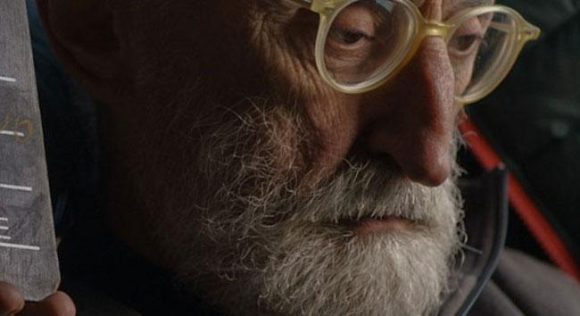Antonio Moresco nel film La lucina