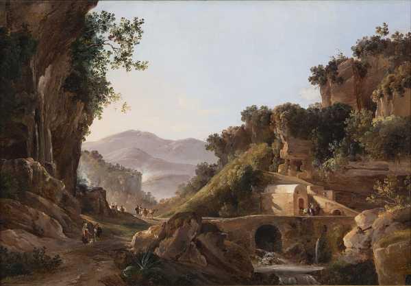 Gonsalvo  Carelli, Cava  De'  Tirreni,  1857, Collezione  privata - Mostra Romanticismo
