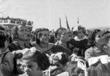 Comizio di De Gasperi in Calabria, 1952 - Foto Archivio storico Luce