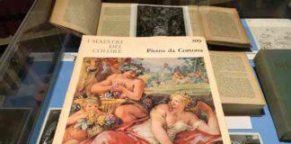 Libri, mostra di Giuliano Briganti
