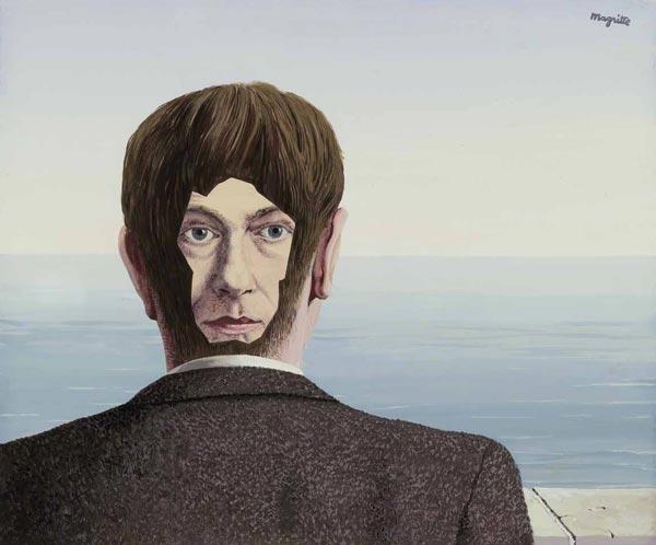 """René Magritte: La maison de verre, 1939. Museum Boijmans Van Beuningen, Rotterdam, photo Studio Tromp ©René Magritte by SIAE 2018 - Mostra ad Alba """"Dal nulla al sogno"""""""