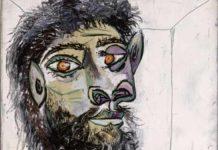 Picasso, Testa di uomo barbuto