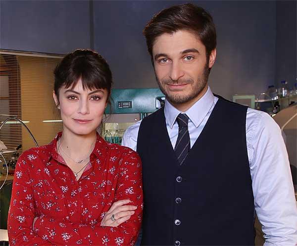 L'allieva 2, Alessandra Mastronardi e Lino Guanciale