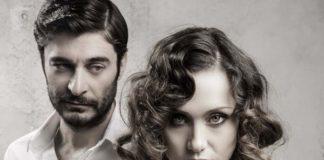 "Lino Guanciale e Gabriella Pession in ""After Miss Julie"""