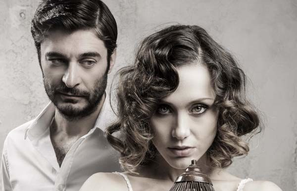 "Lino Guanciale e Gabriella Pession in ""After Miss Julie"""
