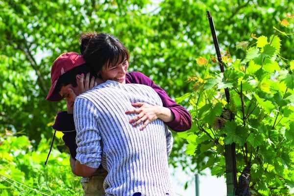 Anna Foglietta e Giampiero De Concilio nel film Un giorno all'improvviso