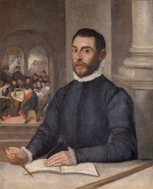 Felice Brusasorzi: Ritratto di Bartolomeo Carteri, 1580 circa, olio su tela, 96,7 x 78,4 cm Verona, Musei Civici
