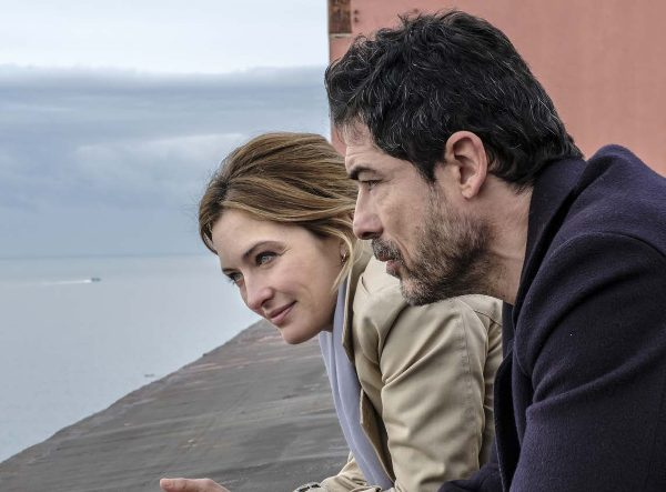 "Alessandro Gassman e Carolina Crescentini nella fiction ""I bastardi di Pizzofalcone"""