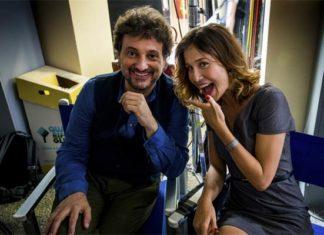 Leonardo Pieraccioni e Gabriella Pession nel film Se Son Rose