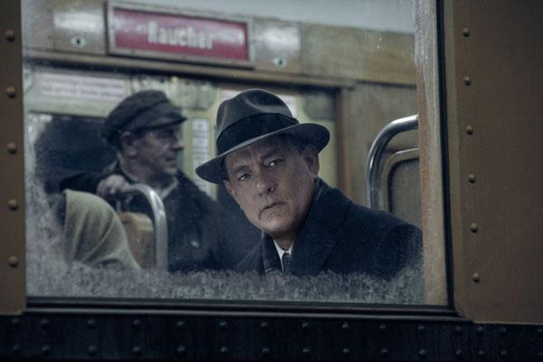 "Tom Hanks nel film ""Il ponte delle spie"""
