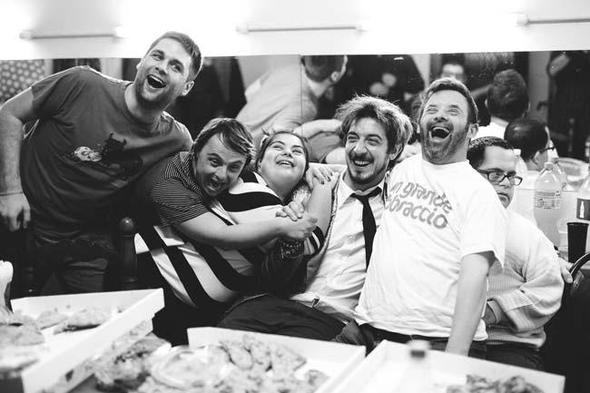 UP & DOWN - Paolo Ruffini e 6 attori della compagnia Mayor Von Frinzius
