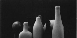 Umberto Bonfini, Natura morta, s.d., stampa da negativo DOP (developing out paper), cm 29,4 x 38,5, Collezione Claudio Spottl