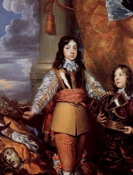 William Dobson, Ritratto di Carlo II, 1642
