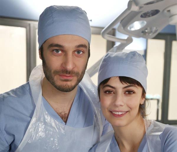 Alessandra Mastronardi e Lino Guanciale protagonisti de L'allieva 2