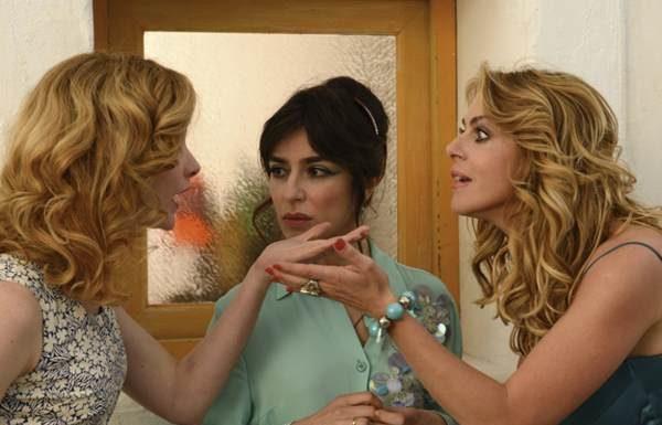 Claudia Gerini, Sabrina Impacciatore e Cristiana Capotondi nel film Amiche da morire