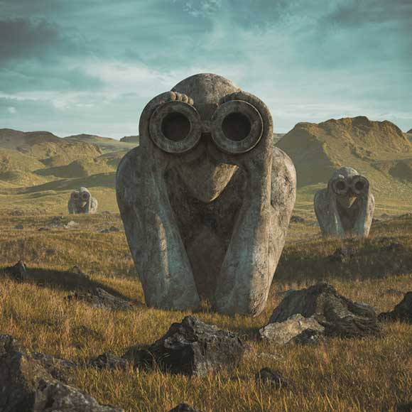 Jean-Michel Jarre, Equinoxe Infinity - Cover