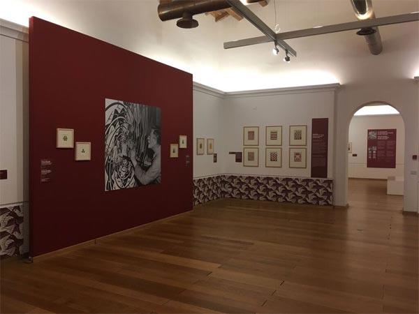 """Catanzaro, allestimento della mostra """"Escher. La Calabria, il Mito"""""""