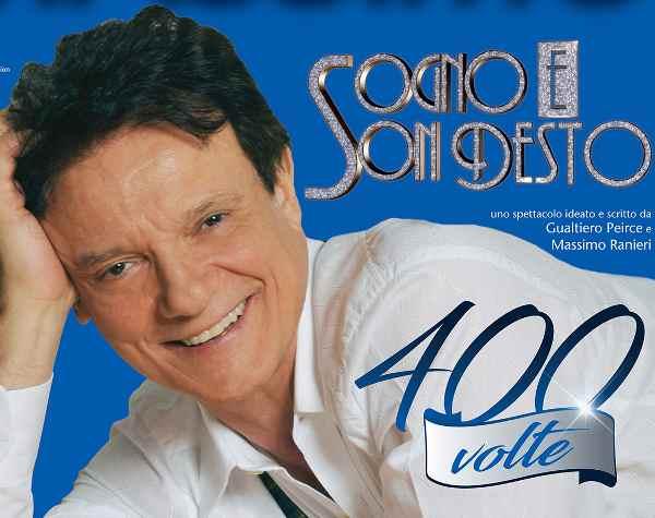 Massimo Ranieri, a Teatro con Sogno e son desto 400 volte