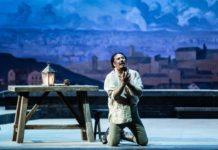 Tosca di Puccini nell'allestimento del 1900 - Stefano La Colla, interprete del ruolo di Mario Cavaradossi - ph Yasuko Kageyama - Teatro dell'Opera di Roma