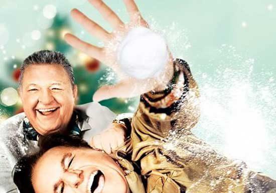 Massimo Boldi e Christian De Sica nel film Amici Come Prima