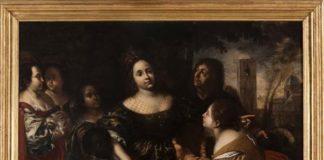 Francesco Cairo, La figlia del faraone accogliè Mosè salvato dalle acque, 1645 ca, olio su tela. Torino, Musei Reali – Galleria Sabauda. ©MiBACT – Musei Reali - Mostra Madame reali