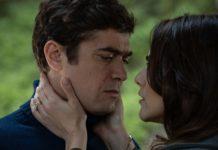 Riccardo Scamarcio e Miriam Leone nel film Il testimone invisibile