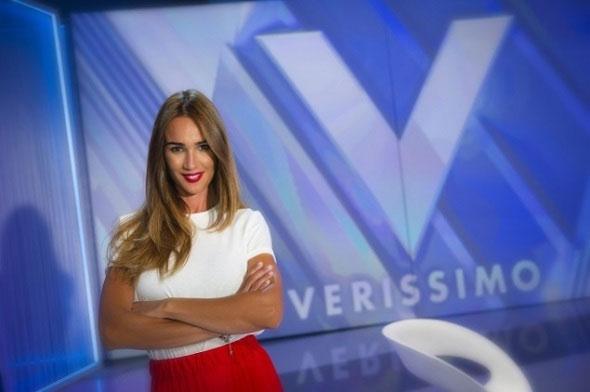 Silvia Toffanin conduce Verissimo