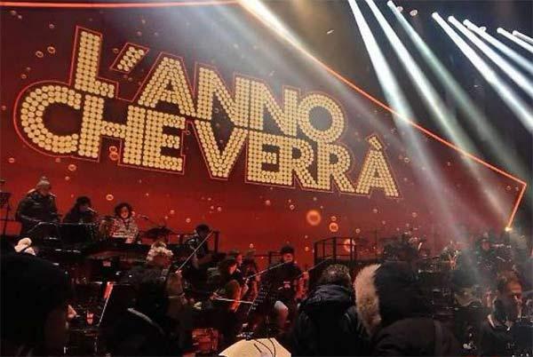 L'Anno che Verrà, scaletta cantanti e ospiti di stasera su Rai 1
