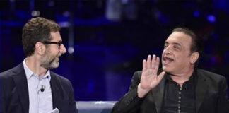 Fabio Fazio e Nino Frassica a Che Fuori Tempo Che Fa