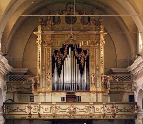 Montanaro (TO) - Organo della Chiesa di Santa Maria Assunta