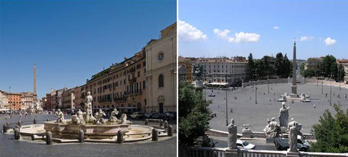 Città segrete, Roma
