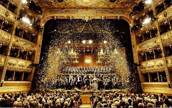 Teatro La Fenice di Venezia - concerto di capodanno